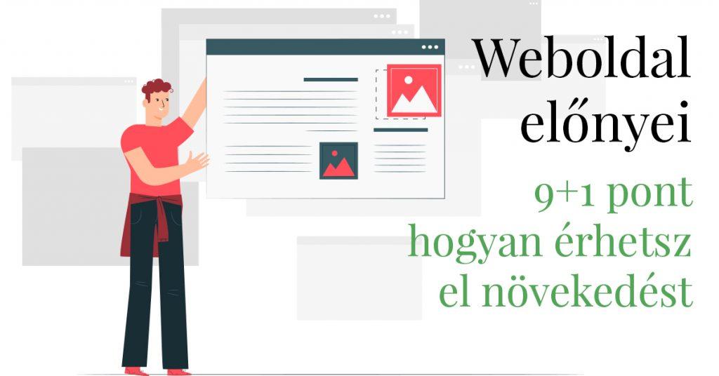 Weboldal előnyei