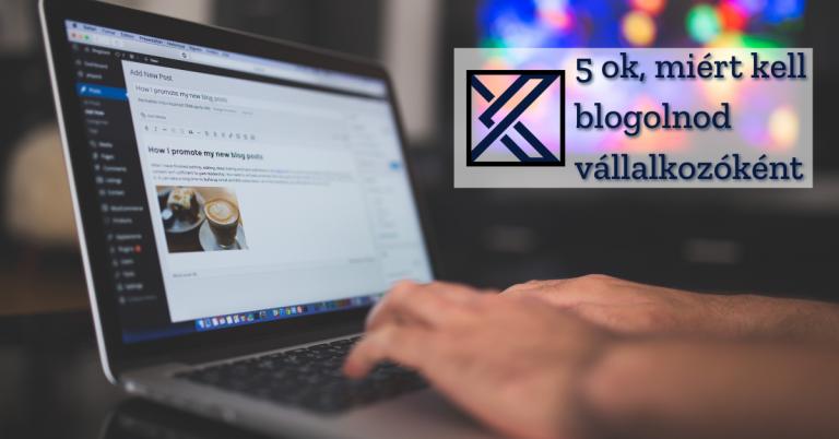 Blogolás előnyei