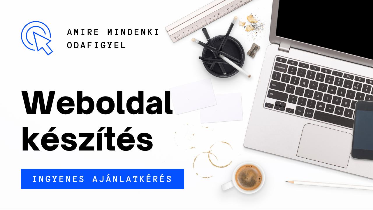 Weboldal készítés Tiszakécske